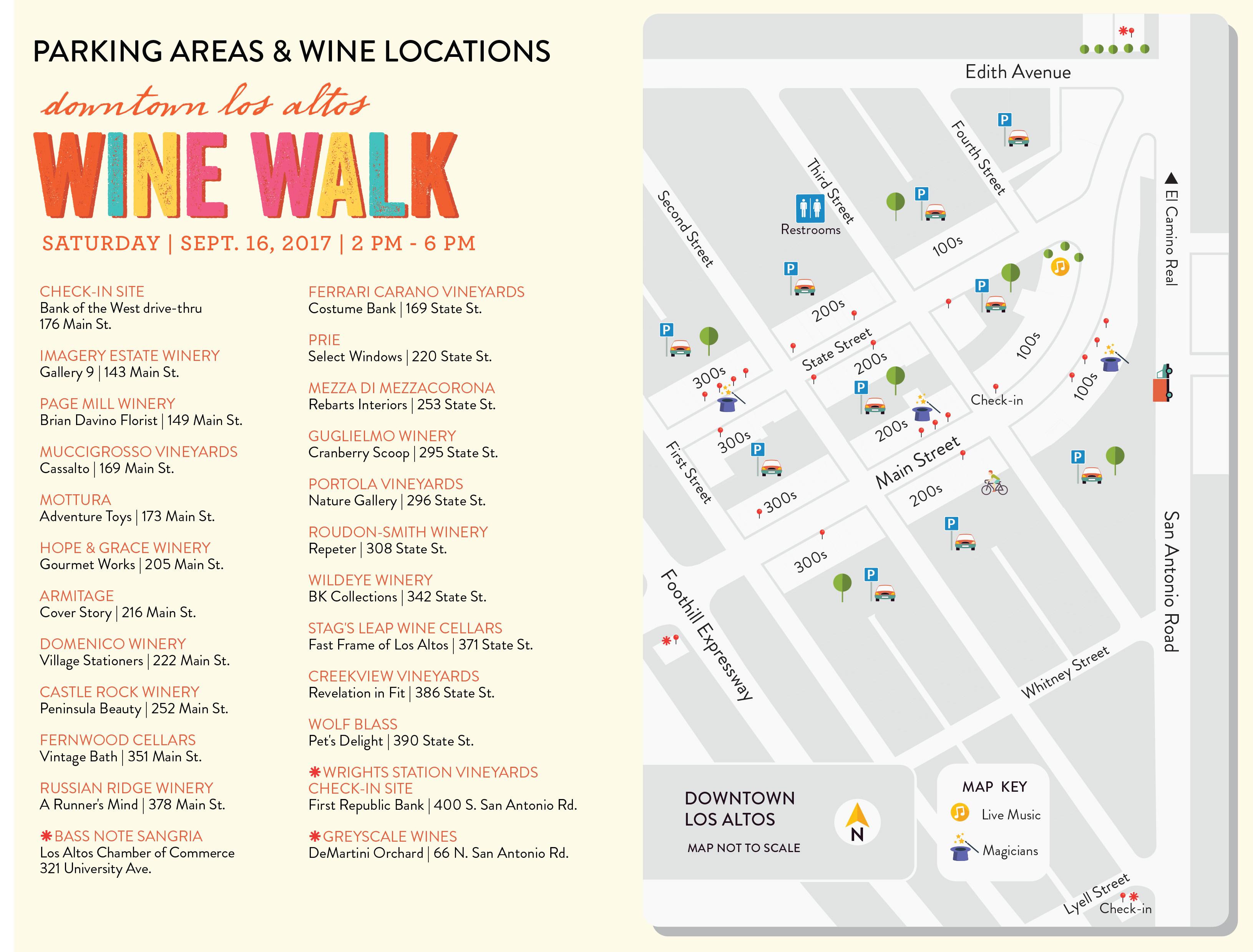 Los Altos Wine Walk